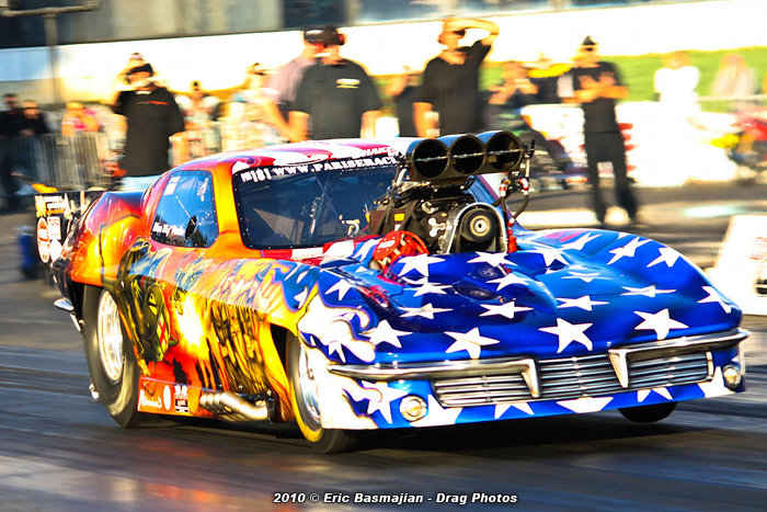 Dina launching her wild Pro Mod!