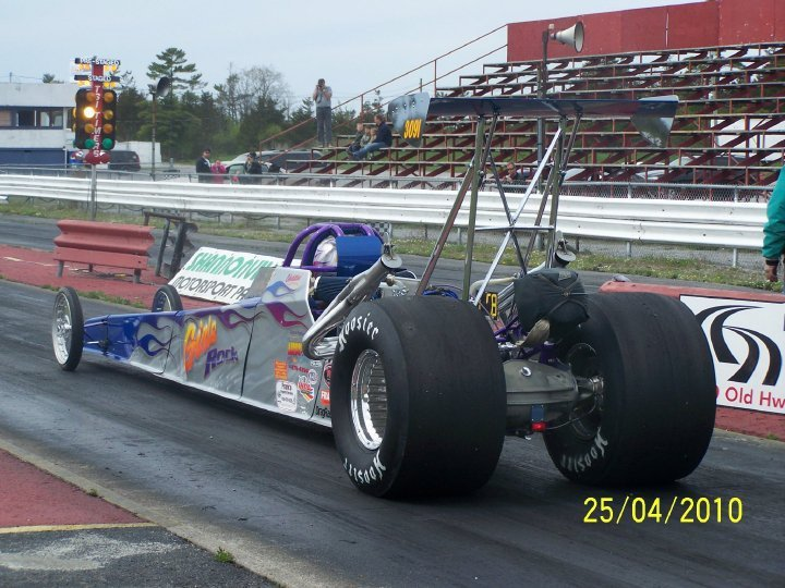 Christine's cool dragster